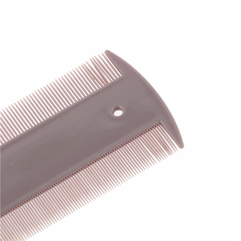 Hair Lice Nit Flea Comb Double Sided Plastic Fine Teeth Head Combs