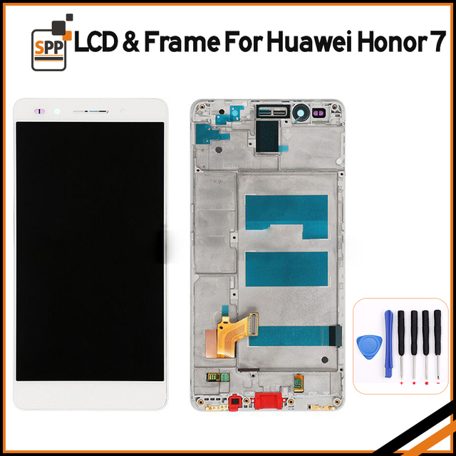 For Huawei Honor 7 LCD Display Touch screen Digitizer with frame LCD ...