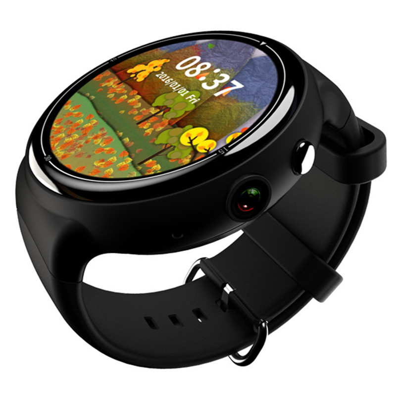 Android 5 1 Smart font b Watch b font 2G 16G Wifi Bluetooth Heart Rate Monitor