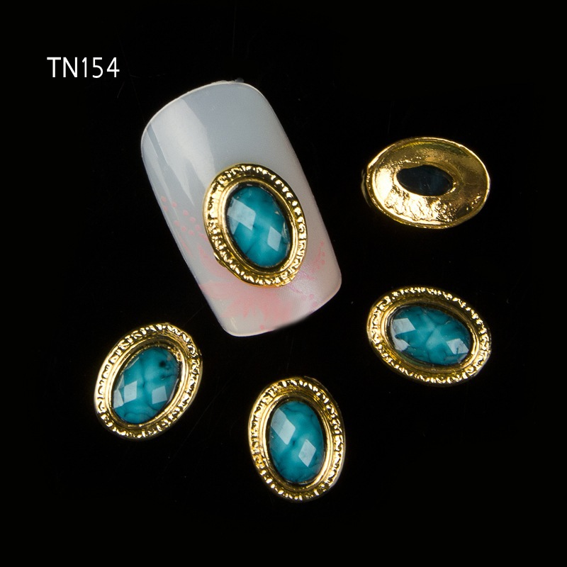 Search For Flights 10pcs/lot 3d Green Gem Gold Alloy Studs For Strass Nail Art Charms Decorations Supplies For Nails Tn154 Famous For High Quality Raw Materials And Great Variety Of Designs And Colors Full Range Of Specifications And Sizes