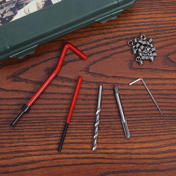 M6 Car Pro cewka wiertarka Metric zestaw do naprawy i umieszczania gwintów do Helicoil narzędzia do naprawy samochodu gruba łom śruba zestaw do naprawy zębów tanie i dobre opinie Drzewa wstaw Obróbka metali
