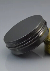 For Tina Susanne Tyse only Lot of 50pcs Aluminum Jars 60ml Black Tin 60g Cosmetic Containers
