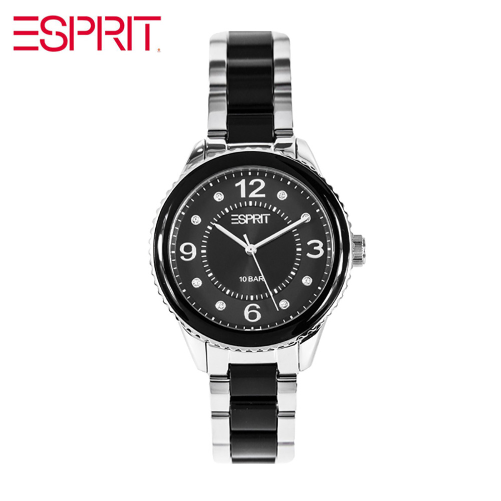 ESPRIT watch silver import quartz watch waterproof temperament ES106192001 esprit rj10124
