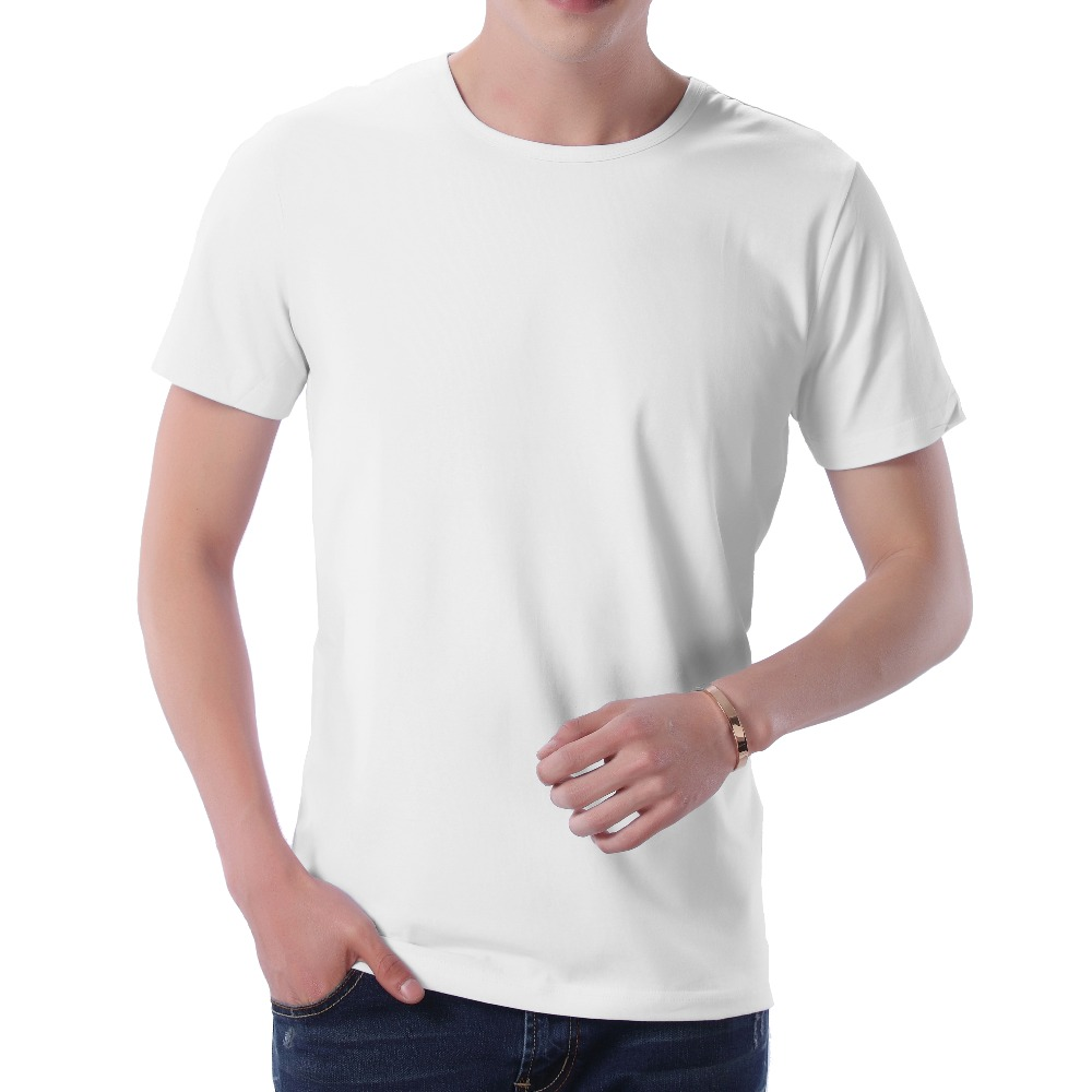 Fashion 2018 New Cool T-shirt Men Blank Tshirt Under shirt Tee Shirt Homme Short Sleeve Summer Tops Tees T shirt Male M-3XL (4)
