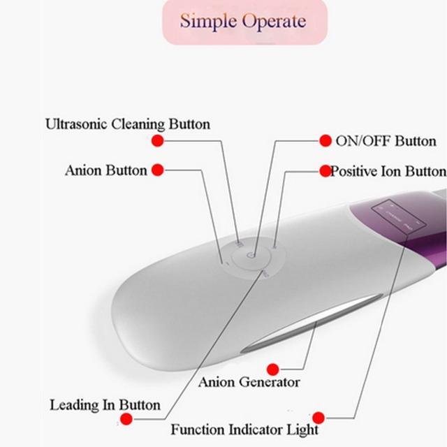 Purple Ultrasonic Ion Skin Cleanser