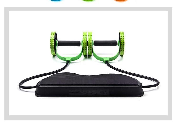 HTB1w4UYKVXXXXXtaXXXq6xXFXXXr - AB Wheels Roller Stretch Elastic Abdominal Resistance Pull Rope Tool AB roller for Abdominal muscle trainer exercise