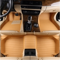 Good Quality Free Shipping Customize Special Car Floor Mats For Cadillac CTS 2016 2008 Waterproof Perfect