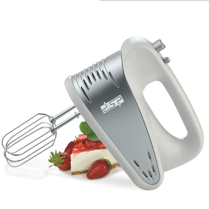 DSP Kitchen Appliances 5 Speed Handheld Type Mixer Fruit Juice Blenders With Whisk Egg Stirring 220-240V 200W dsp kj1002 fruit