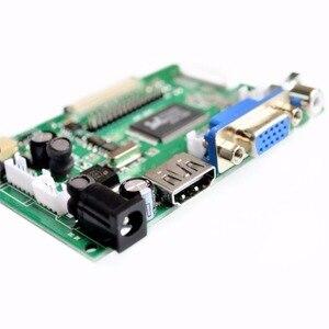 Image 4 - 1024*600 Màn Hình Màn Hình Hiển Thị Màn Hình LCD TFT Màn Hình Từ Xa Driver Điều Khiển Ban 2AV HDMI VGA Cho Lattepanda, raspberry Pi Chuối Pi