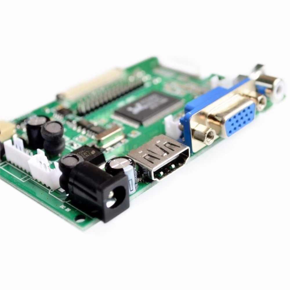 1024*600 ekran LCD monitor tft ze zdalnym sterownikiem płyta sterowania 2AV hdmi vga dla Lattepanda, Raspberry Pi banana Pi