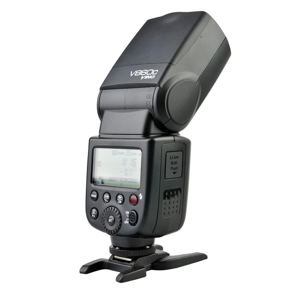 Godox Ving V860C V860 Speedlite Li-ionbatterij Flash-snel E-TTL HSS - Camera en foto - Foto 3
