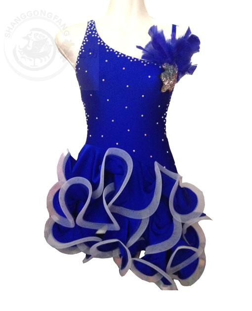 New 2016 Adult/Children Latin Dance Dress Women Girl/Lady Cha Cha/Rumba/Samba/Tango/Ballroom Dance Skirt Vestido De Baile Latino