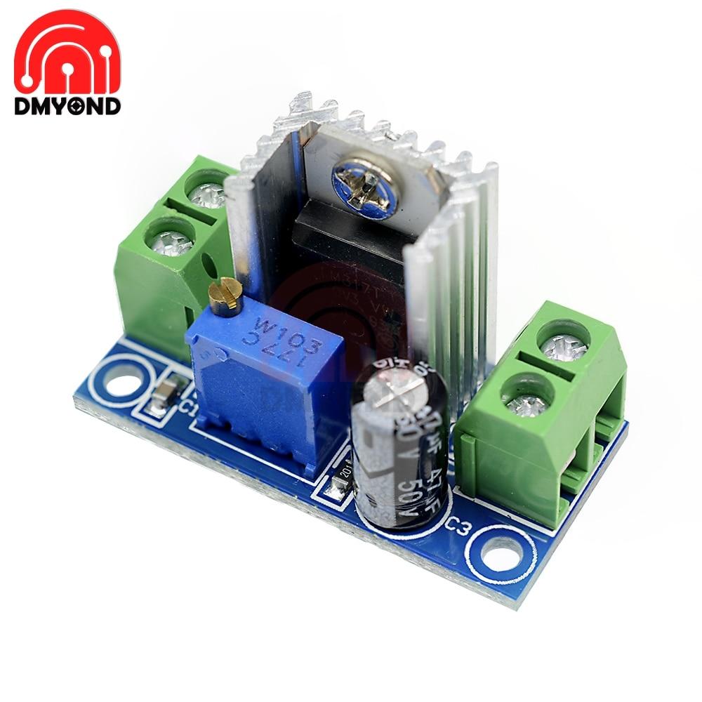 LM317 Module Adjustable Voltage Linear Regulator Power Supply LM317 DC-DC 4.2-40V To 1.2-37V Step Down Buck Converter Board