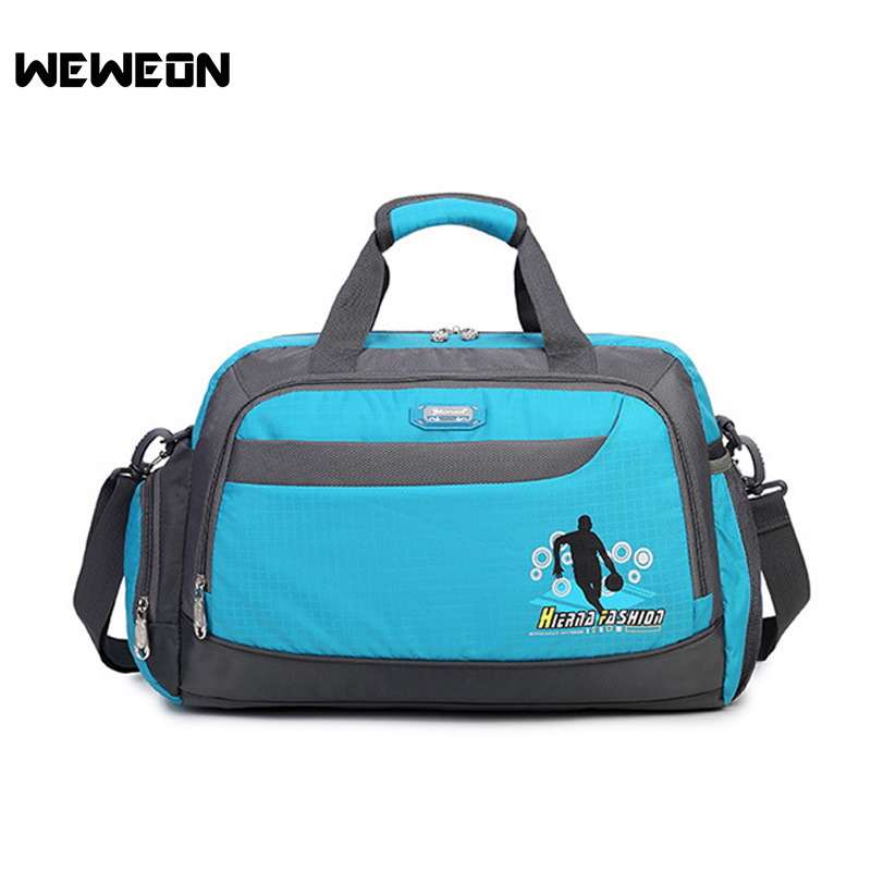 New Arrival Sports Fitness Gym Bag Unisex Waterproof Oxford Multiuse Gym Tote Training Shoulder Bags Women Men Sports Handbag