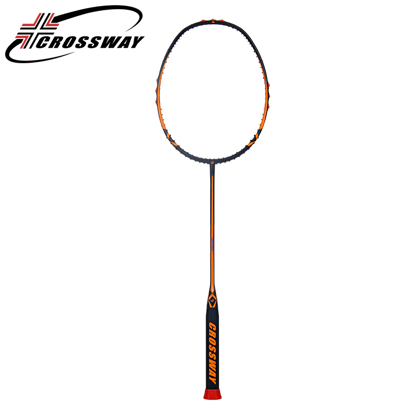 CROSSWAY 1PC 5U new professional badminton racket Lightweight graphite fiber Training Sport Equipment Durable with Carry Bag bss