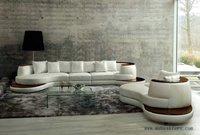 Envío libre de lujo Villa SOFA set, sofá y longue muebles set, modelo de lujo muebles S8622