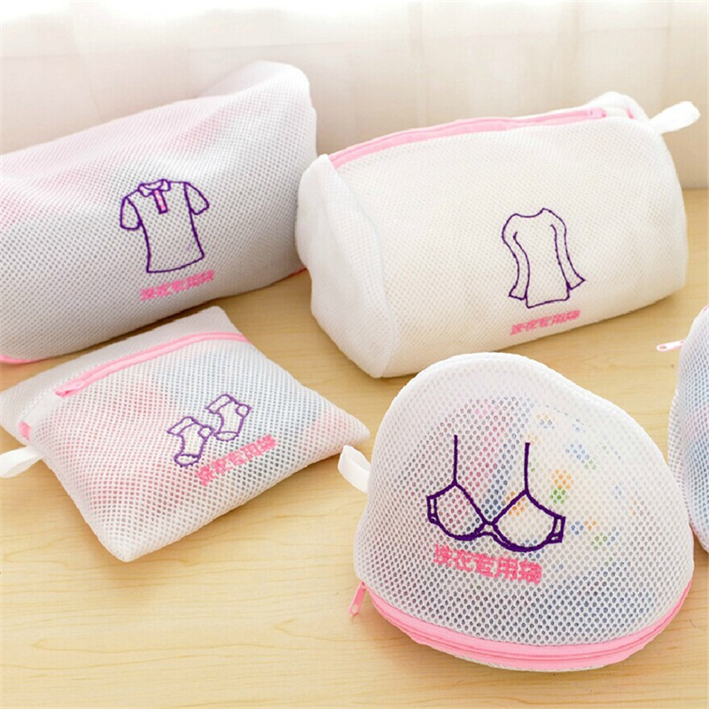 Home Clothes Washing Machine Laundry Bags Useful Washing Machine Used Mesh Net Bags Bra Underwear Protector Laundry Wash Bags