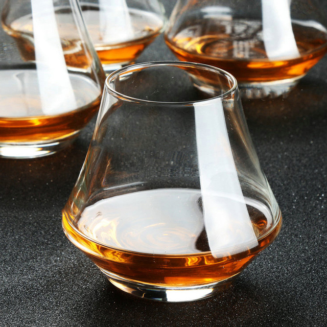 Wide Crystal Brandy Snifters