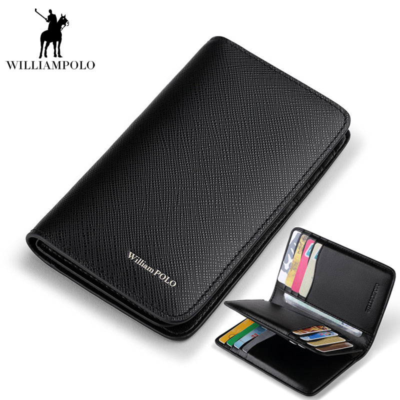2017 NEW Brand Driver's license Slim Mens Wallet Leather Genuine Purse Porte Monnaie Homme  Card Holder Credit Card Wallet EA297 smaart v 7 new license