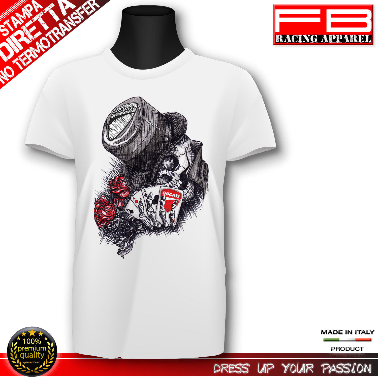 Ra T Vel Us 12 06 5 Off 2018 Fashion Italian Motorcycle Fans Art Logo Panigale Diavel 916 748 Hypermotard Tee Shirt Tee Shirt In T Shirts From Men S Clothing