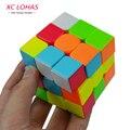 Colorful 3x3x3 Tres Capas de Competición Velocidad Cubo Cubo Mágico Profissional No Pegatinas Rompecabezas Cubo Mágico Fresco Toy Boy