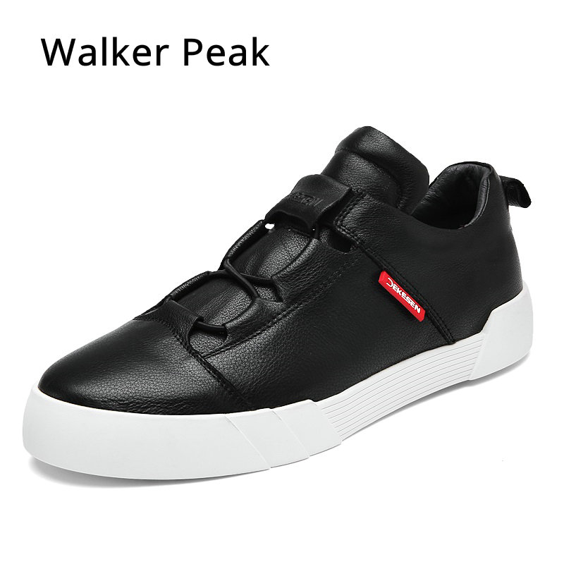 Men 100% Genuine Leather Casual Shoes Fashion Boat Shoe Hip-hop Brand Design Flats Loafers For Men Driving Shoes Walker Peak printed assassins creed canvas shoes fashion design hip hop streetwear unisex casual shoes graffiti women flat shoe sapatos