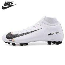 c69a1de36 الأصلي جديد وصول نايك SUPERFLY 6 أكاديمية CR7 AG-R الرجال أحذية كرة القدم  لكرة