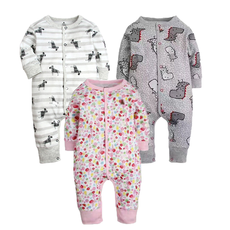 KAVKAS Spring Baby Rompers Baby Boy Clothes Cotton Newborn Baby Clothes Unisex Kids Colthing Roupas Bebe Infant Jumpsuits