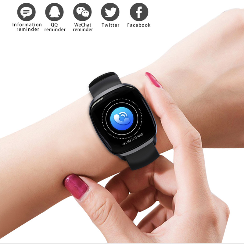 Image 3 - Women Smart Watch Sport Fitness Tracker Heart Rate Monitor Smartwatch Bluetooth Music Control Waterproof Watch For Android-in Smart Watches from Consumer Electronics
