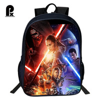 Pacento Popular Star Wars Pattern Boys Backpack Children School Bags Unique Students Shoulder Bags Waterproof Stylish Back Pack