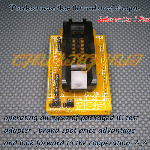 HEAD-FMEM-PS44 Programmer Adapter HI-LO GANG-08 Programmer Adapter PSOP44 SOP44/IC SOCKET(Flip test seat) head mpu51rd2 pl adapter hi lo gang 08 programmer adapter plcc44 ic socket flip test seat