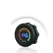 DC 12V Car Motorcycle Digital Voltmeter Voltage Gauge Meter LED Panel Display все цены