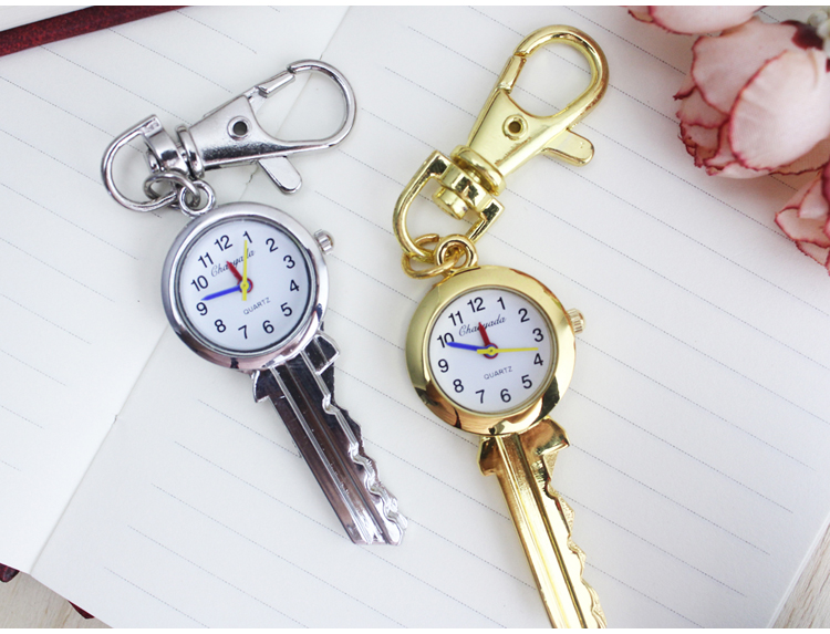 Charming Key Chain Ring fashion jewelry Pocket Watch necklace pocket watch Drop shipping 2016 new arrival silver fashion pendant pocket watch with silver necklace chain free drop shipping