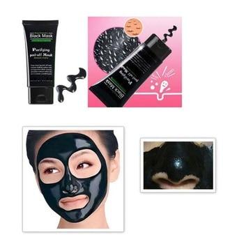Čistící černá maska 1