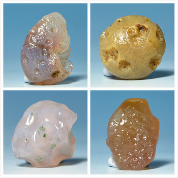 Alxa desert raisin natural agate agate jewelry pendant diy original stone mineral crystal stones