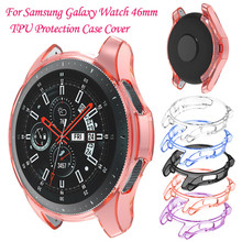 Ultra-thin Soft TPU Protection Silicone Case Cover For Samsung Galaxy Watch 46mm smartwatch wearable devices relogios 3
