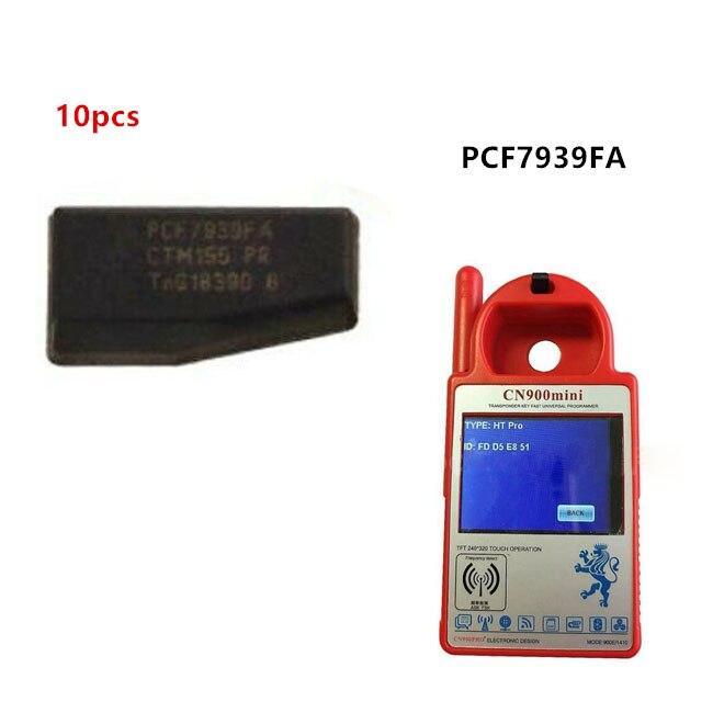 Keyecu 10pcs PCF7939FA 128 Bit Carbon Transponder Chip HT Pro use for Ford
