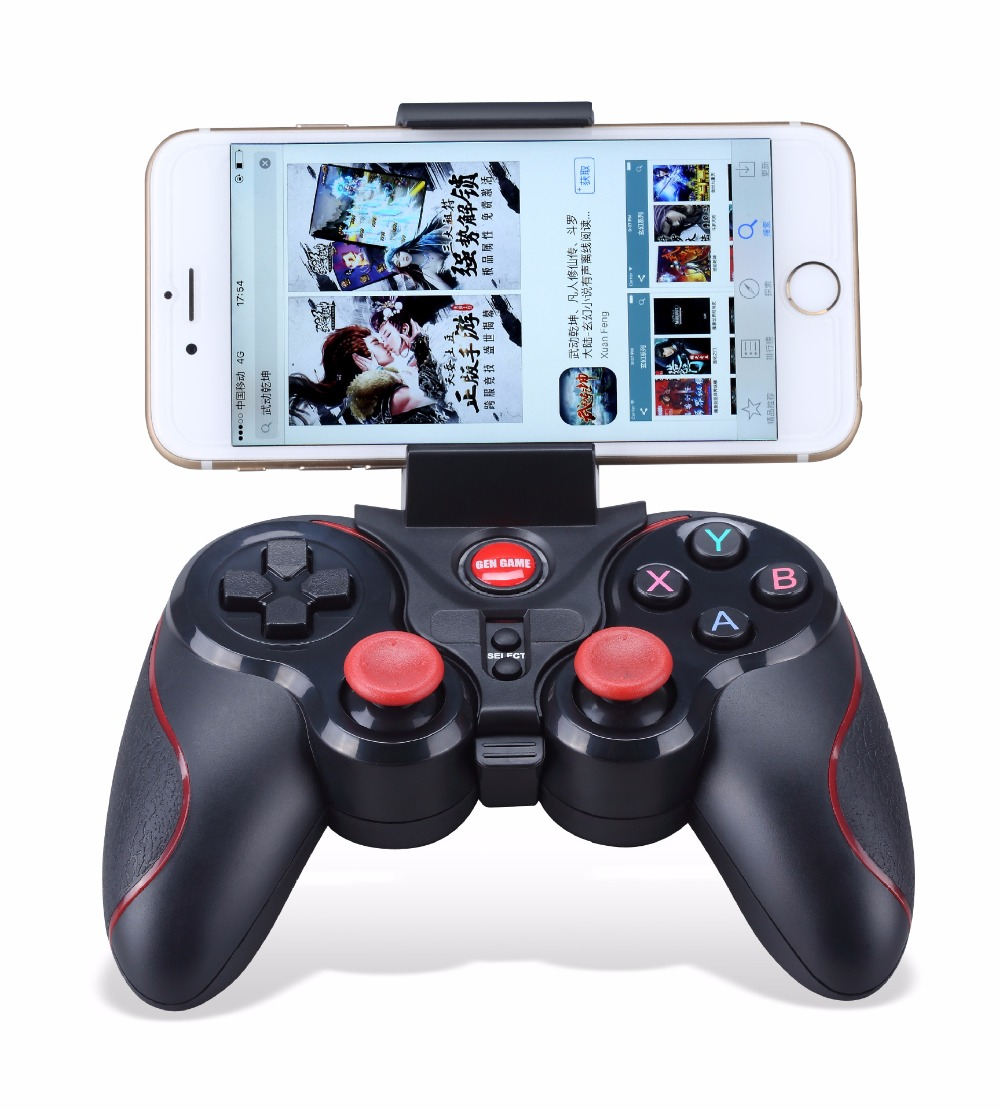 Wireless Bluetooth Gamepad Cell Phone Game controller Remote Selfie Shutter/joypad Handle For Android ios Smart  Phone xunbeifang 2pcs for nes30 wireless bluetooth game controller gamepad bluetooth arcade game stick joystick for ios for android