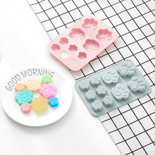 Силиконовая форма пироженое, печенье, шоколад форма для льда Форма для выпечки лоток 3D Новое поступление дропшиппинг