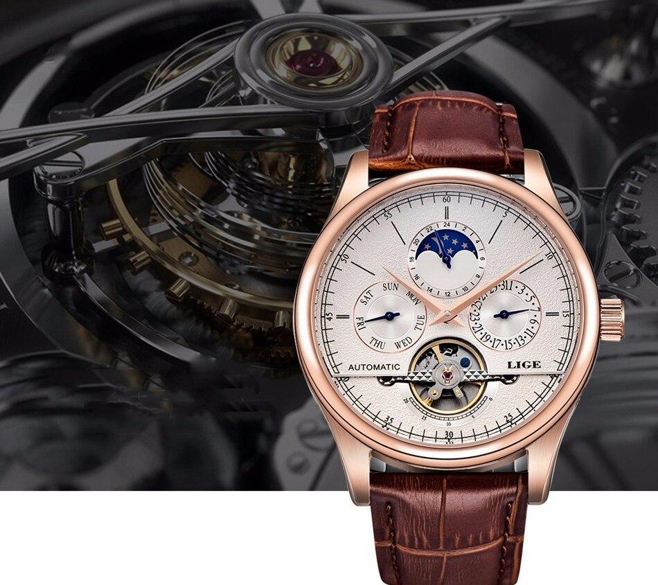 HTB1w4 JfgmTBuNjy1Xbq6yMrVXa2 LIGE Brand Men Watches Automatic Mechanical Watch Tourbillon Sport Clock Leather Casual Business Wrist Watch Gold Relojes Hombre