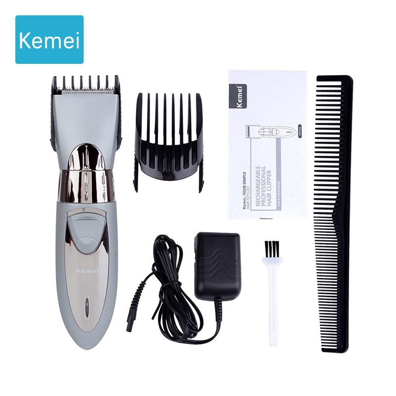 Kemei Electric Hair trimmer clipper hair cutter Beard trimmer Styling tools hair cutting machine Hair trimer rechargeable 5 все цены