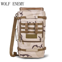 60L Outdoor Bags Multifunction Military Tactical Backpack Hiking Camping Trekking Shoulder Bag Sports Bags