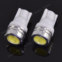 High Power T10 W5W 184 2450 2521 LED Door Light clearance Bulb 1W auto car led lamp corner parking light white blue yellow