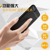 Новый ультратонкий Bluetooth Две сим двойной Adaper для меня телефон с Запасные Аккумуляторы для телефонов