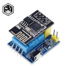 Sensor de umidade para temperatura, sensor esp8266 ESP-01 ESP-01S dht11 wi-fi para casa inteligente iot, 1 peça