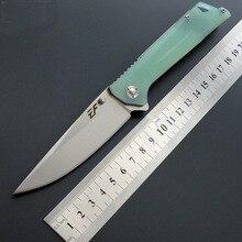 Походный складной нож D2 Сталь G10 Ручка Специальный боевой самообороны Открытый нож кемпинг высокая твердость острый тактический нож