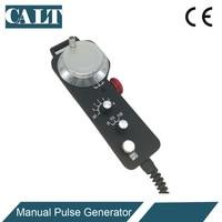 CALT 6 Axis Magnificaion switch handwheel encoder MPG manual pulse generator for CNC Control TM2080 100BSL5