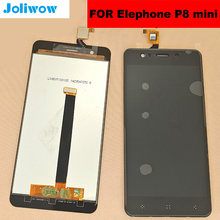 5.0 Original LCD FOR Elephone P8 mini Display+Touch ScreenDigitizer Assembly Replacement Accessories for elphone p8