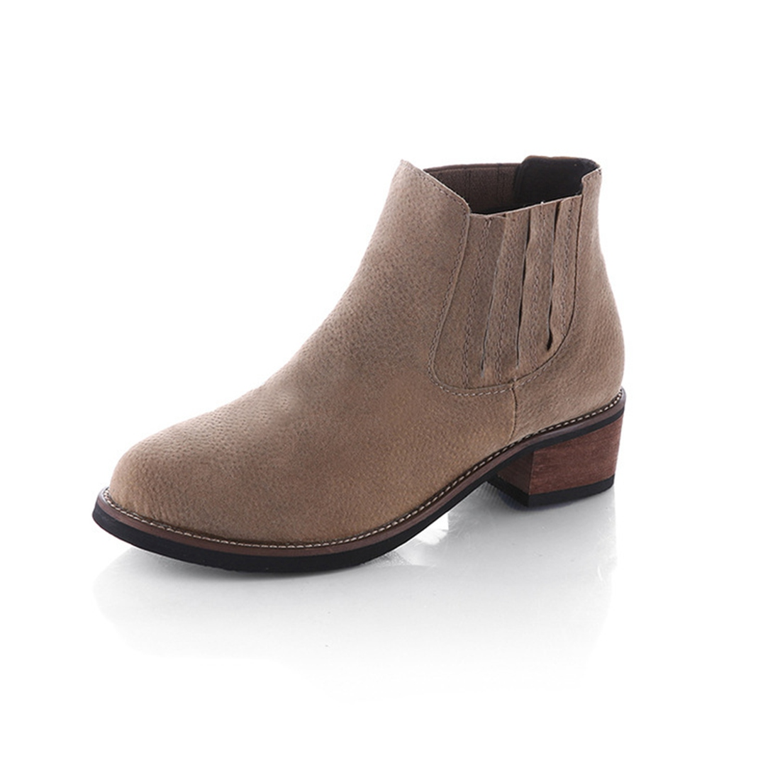Online Get Cheap Black Suede Flat Ankle Boots -Aliexpress.com ...