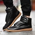 2017 Nuevo Remache de Hip-Hop Zapatos Para Hombre Martí n Casual zapatos del Top del Alto de Los Hombres Botas de Los Zapatos de Hombre Del Deporte entrenadores